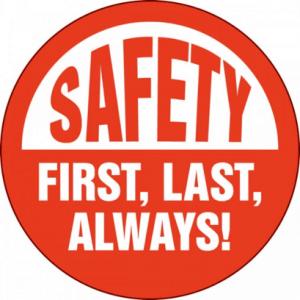 safety first last always eleven engineering